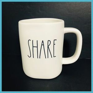 RAE DUNN SHARE COFFEE & TEA MUG